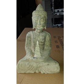 Eliassen Boeddah beeld natuursteen 2 modellen