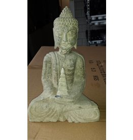Eliassen Boeddah Statue Stein drei Modelle