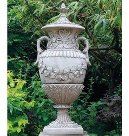 Dragonstone Garden vase Romsey dragonstone