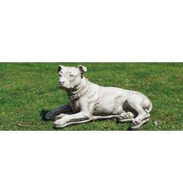 Dragonstone Tuinbeeld grote pitbull hond