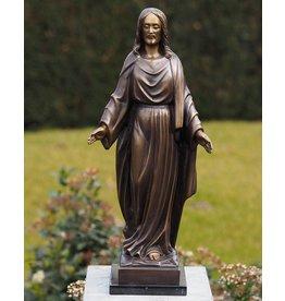 Eliassen Bronzestatue von Jesus
