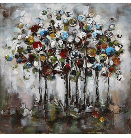 Eliassen 3-d painting 100x100cm Fantasy trees