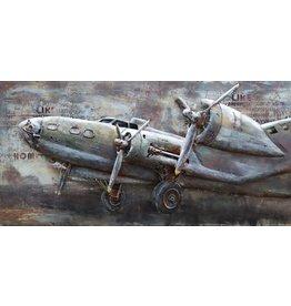 Eliassen 3D-Malerei Metall Lancaster 70x140cm
