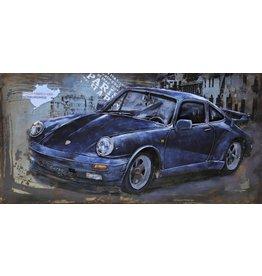 Eliassen 3D Painting metal Porsche 60x120cm