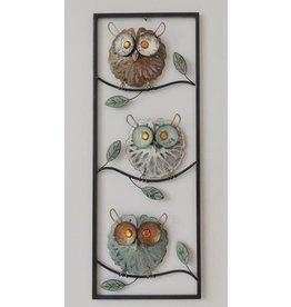 Eliassen Wall decoration owls