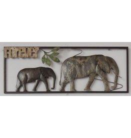 Eliassen Wall decoration elephants