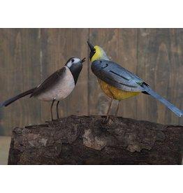 Eliassen Metallfigur Vogelpaar 30x15cm