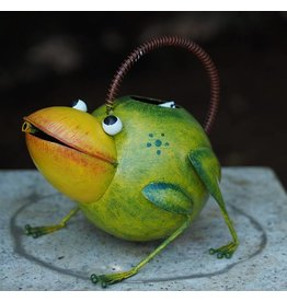 Eliassen Metal figure frog watering can
