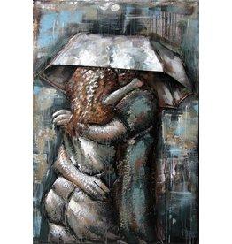 Eliassen Metal painting Love 3 80x120cm