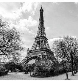 Eliassen Glass painting 100x100cm Eiffel Tower