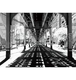 Eliassen Glass painting 70x50cm Under bridge