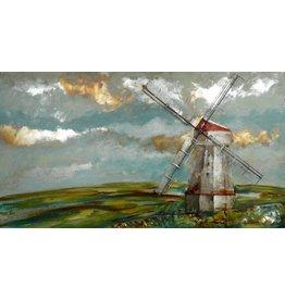 Eliassen Metaal schilderij XXL Holland 1 80x150cm