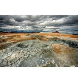 Eliassen Glasmalerei 120x80cm Lava