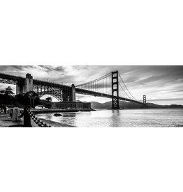 Glasmalerei 120x40cm Bridges