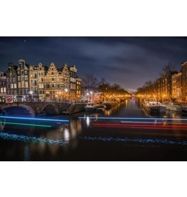 Eliassen Glass painting XXL 160x110cm Amsterdam