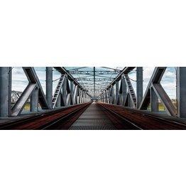 Eliassen Glasmalerei 120x40cm Brücke