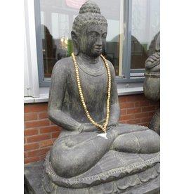 Eliassen Buddha statue on lotus meditating in 6 sizes