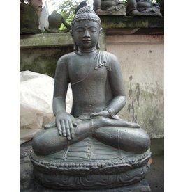 Eliassen Buddha-Statue in Lotus Erde in 6 Größen