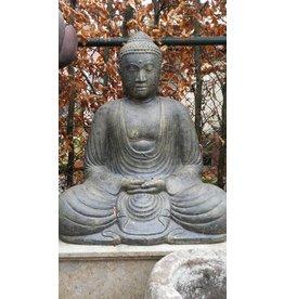 Eliassen Japanische Buddha Skulptur im Lotus ist in 3 Größen