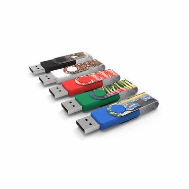 USB Stick USB2.0 Type Twister Max Print