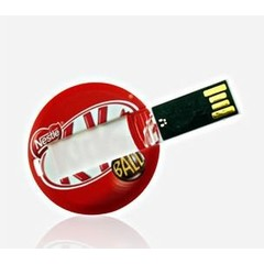 USB Stick USB2.0 Type Coin Card