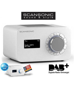 Scansonic R3 DAB+ Wit