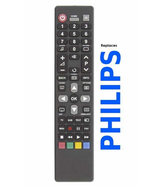 Philips Afstandsbediening / remote controle voor alle Philips tv's