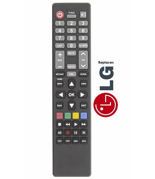 Afstandsbediening / remote controle voor alle LG tv's