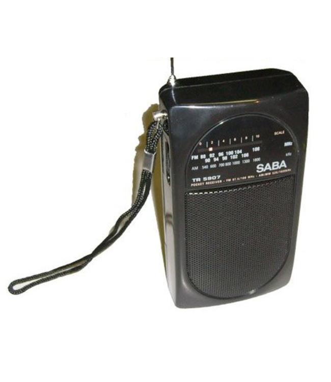 TR5907 goedkoper draagbare pols radio met luidspreker op batteijen