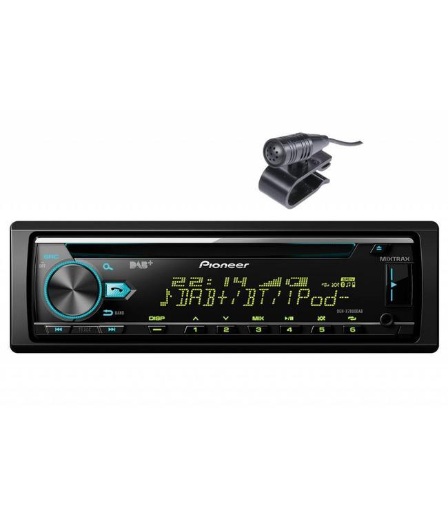 Pioneer DEH-X7800DAB Bluetooth autoradio met DAB+ digitale radio •Gratis Phone holder•