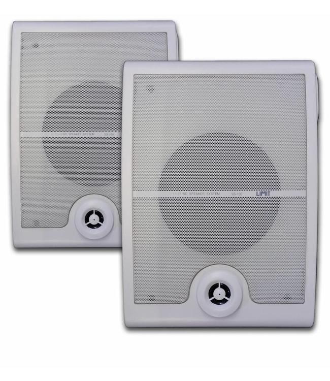 Limit SS100 professionele speakers met ophang beugels ook prima voor Dolby Atmos