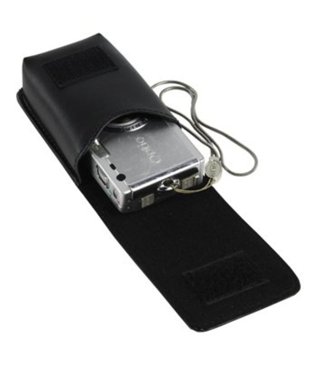 KN-CAMBAG700 Universele fotocamera tas met lederlook, stevig model.
