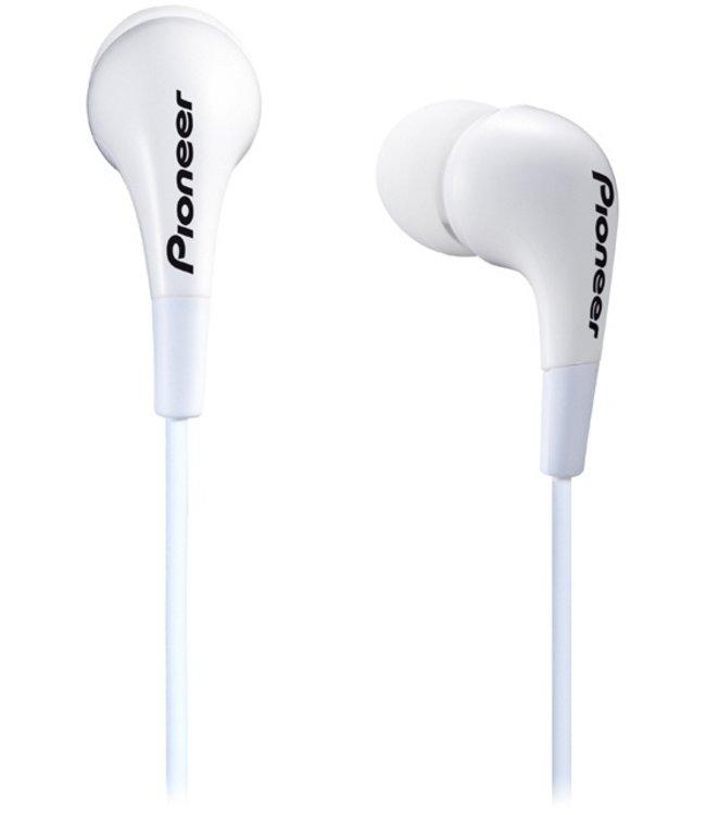 Pioneer SE-CL502 - In-ear oordopjes - Wit