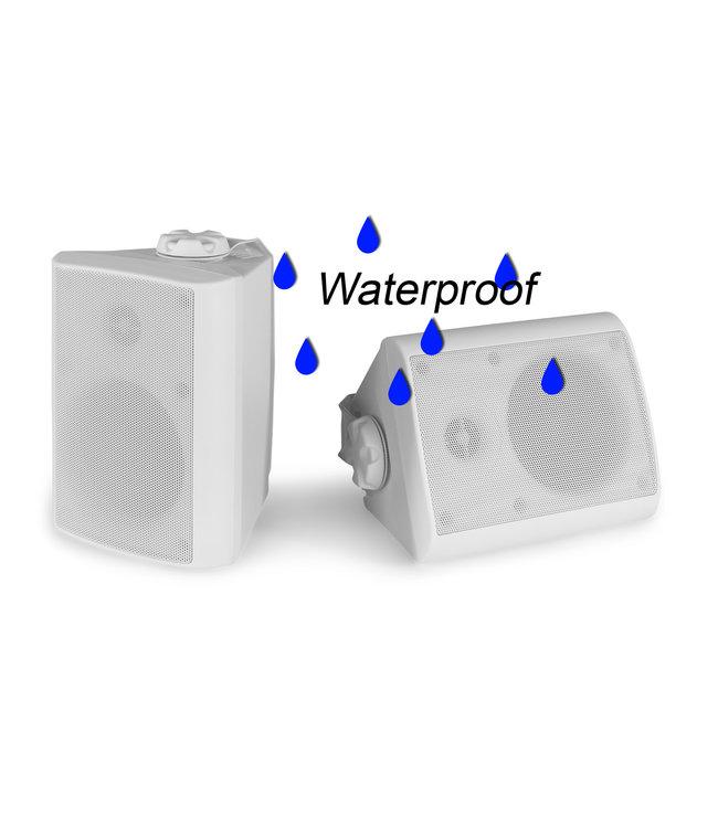PD BGO50 luidsprekers voor binnen of buiten - wit