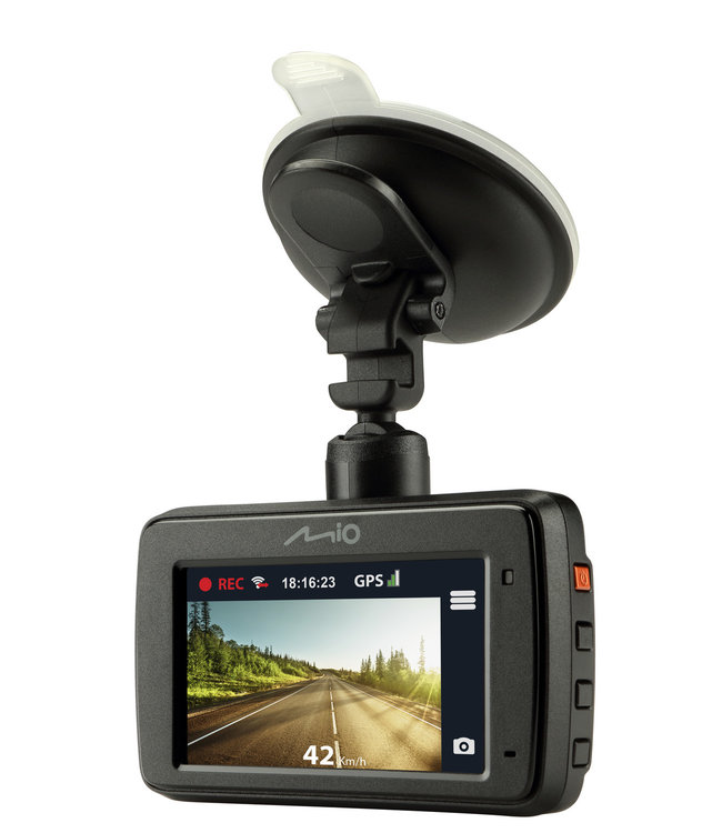 MIO MiVue 733 Wifi Full HD dashcam met GPS