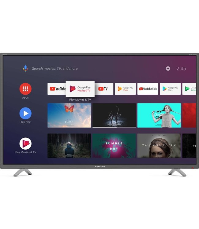 Sharp 40BL2EA 4K Ultra HD Smart tv televisie 102cm / 40inch - Android Smart