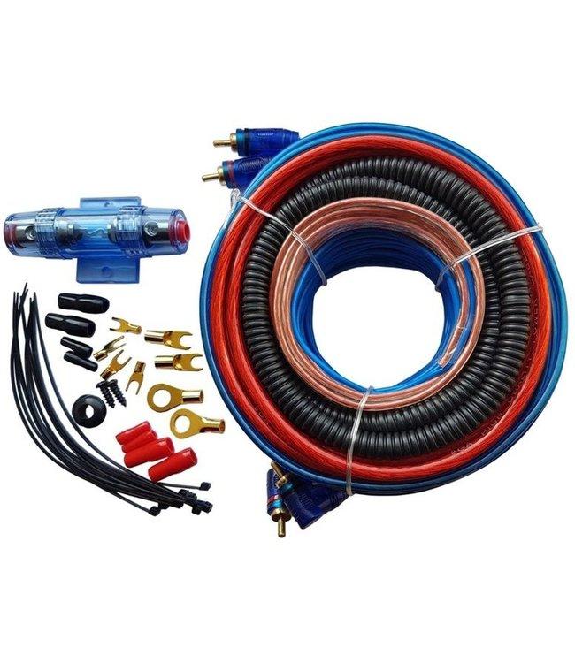 Kabelset Aansluit set / Kabel set voor het aansluiten van auto versterker/booster