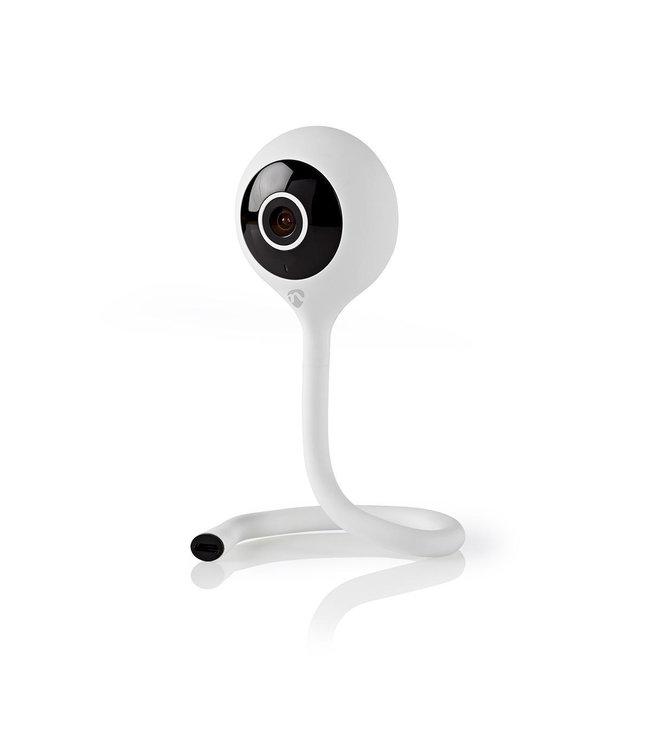 Nedis WIFICI11CWT   Wi-Fi smart bewakings-camera   Full-HD 1080p   gratis app
