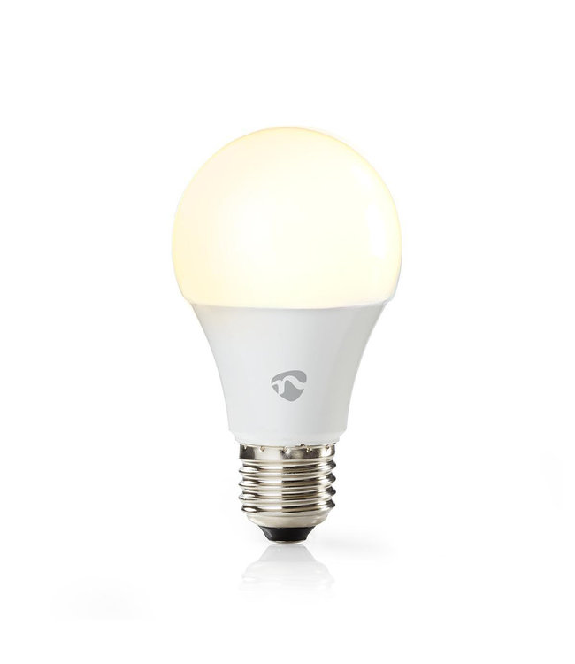 Nedis WIFILC11WTE27 | Wi-Fi smart LED-lamp | Full-Colour en Warm-Wit | E27