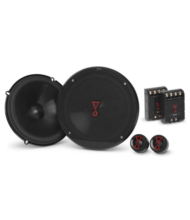 JBL STAGE3 607C   Ronde 17cm 16,5cm Composet Auto Speakers met Losse Tweeters    Pop-socket kado!