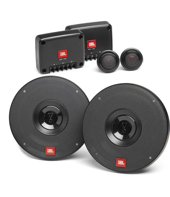JBL CLUB 602C | Ronde 17cm 16,5cm Composet Auto Speakers met Losse Tweeters |Gratis pop-socket telefoonhouder