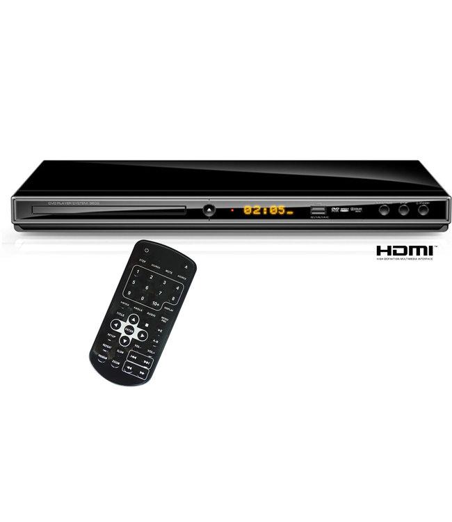 Salora DVD29HDMI | DVD/CD speler met HDMI en USB | Display | Nu met HDMI kabel twv €9,95 kado