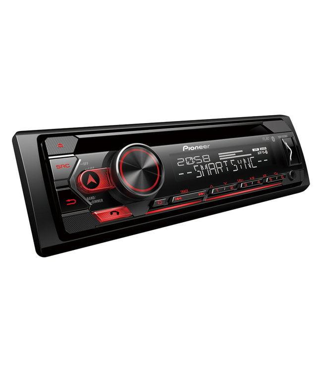 Pioneer DEH-S320BT Bluetooth autoradio met CD speler, USB, handsfree bellen en spotify + Gratis Telefoonhouder twv €14,95