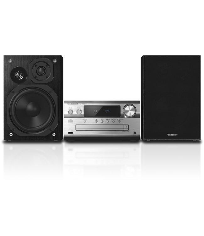Panasonic SC-PMX94EG-S stereo set met CD speler, USB, DAB+ zilver | Optical digital input