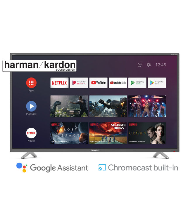 Sharp 55BL2EA | 4K Ultra HD |  140cm / 55inch | Android Smart tv