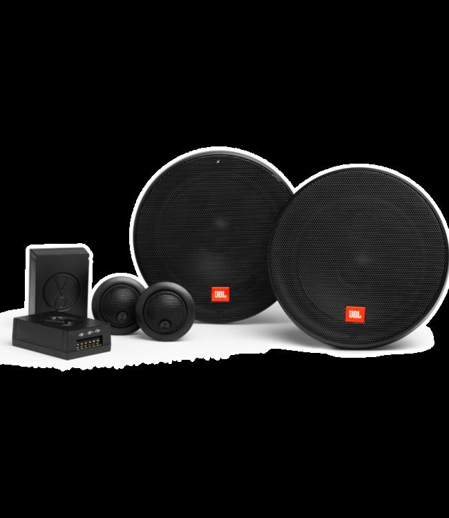 JBL STAGE2 604C | Ronde 17cm 16,5cm Composet Auto Speakers met Losse Tweeters |  Pop-socket kado!