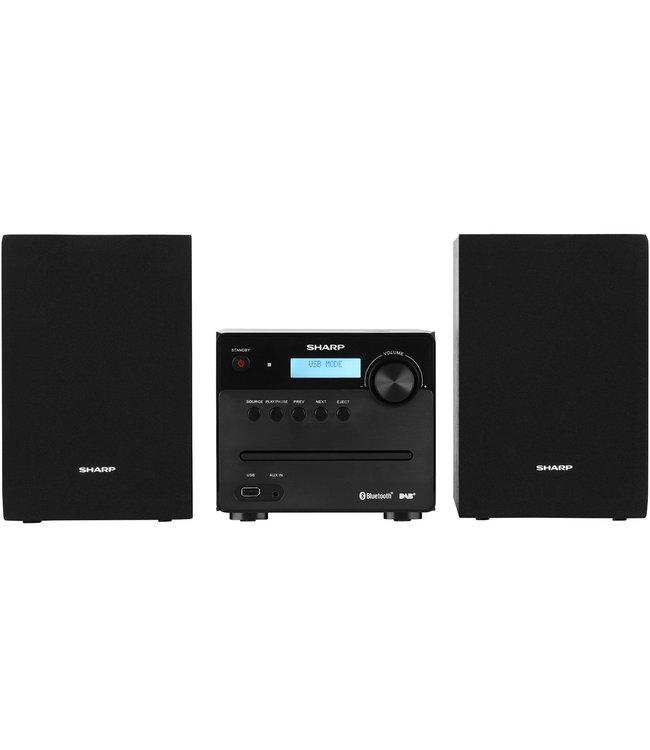 Sharp XL-B515D(BK) stereoset met CD, USB, DAB+ digitale radio
