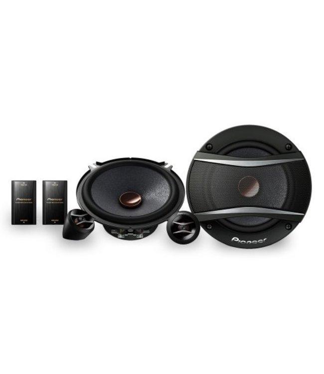 Pioneer TS-A133Ci ronde 13cm auto speakers voor in de deur 250Watt compo-set met 2 losse tweeters