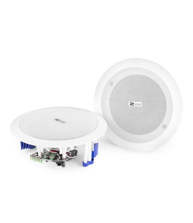 Power Dynamics CSBT60 inbouw plafond luidsprekers met ingebouwde versterker en Bluetooth