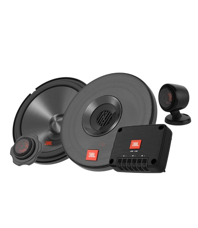 JBL CLUB 602CTP | Ronde 17cm 16,5cm Composet Auto Speakers met Losse Tweeters op voetje